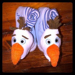 Disney Frozen Olaf slippers